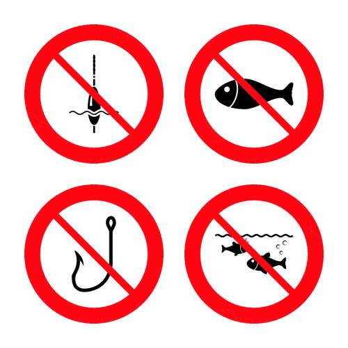 Протягом квітня, травня та червня 2017 року оголошено заборону лову риби