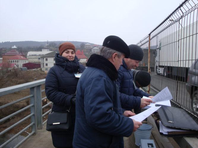 Спільний відбір проб на митному переході м. Могилів-Подільський