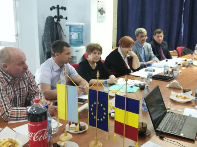 12 квітня 2018 року в м. Бухарест, Румунія відбулась зустріч спеціалістів щодо обговорення проектних пропозицій які можуть бути надані в рамках Спільної операційної програми «Румунія-Україна 2014-2020»