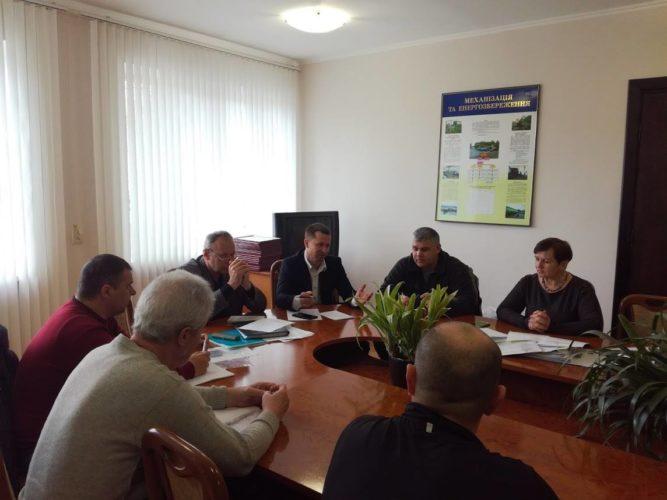 Засідання громадської ради при БУВР Пруту та Сірету