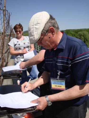 Працівниками Новодністровської лабораторії моніторингу вод та фахівцями з Республіки Молдова проводився спільний відбір проб