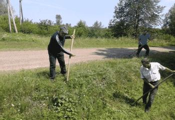 Робота руслових ремонтерів Сторожинецького МУВГ
