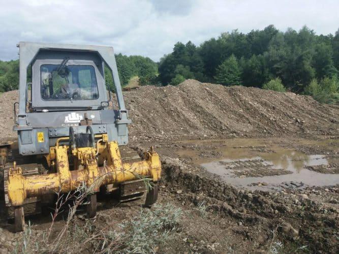 Влаштування прокопу на річці  Малий  Сірет в с.Банилів-Підгірний, Сторожинецького району