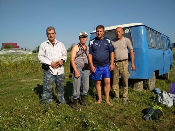 Експедиція по Дністровському водосховищу