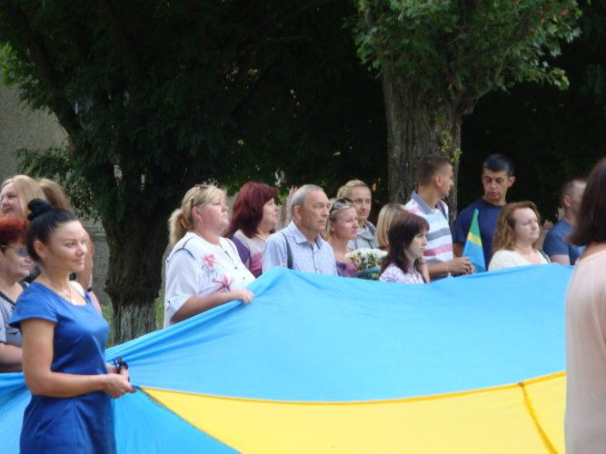 Працівники Новодністровського РУВР взялиучасть в урочистих заходах до Дня Державного Прапора України