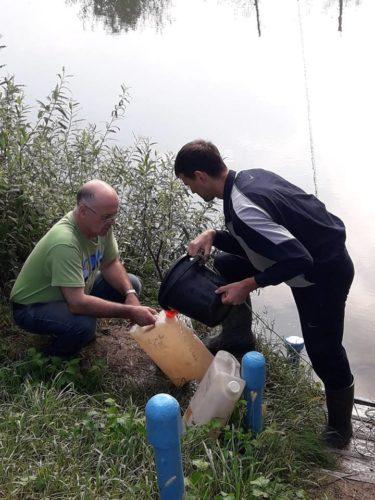 Відбір проб води з річок Дністер, Прут та Сірет у вересні 2018 року