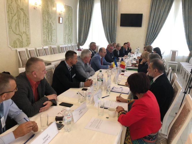 Участь в Х нараді Уповноважених Урядів України та Румунії